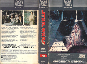 Star Wars Rental Only
