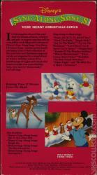Disney's Sing-Alongs: Very Merry Christmas Songs | VHSCollector.com