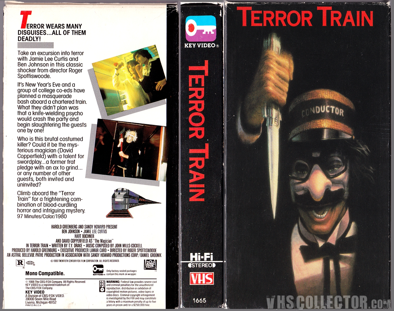 terror train vhscollector