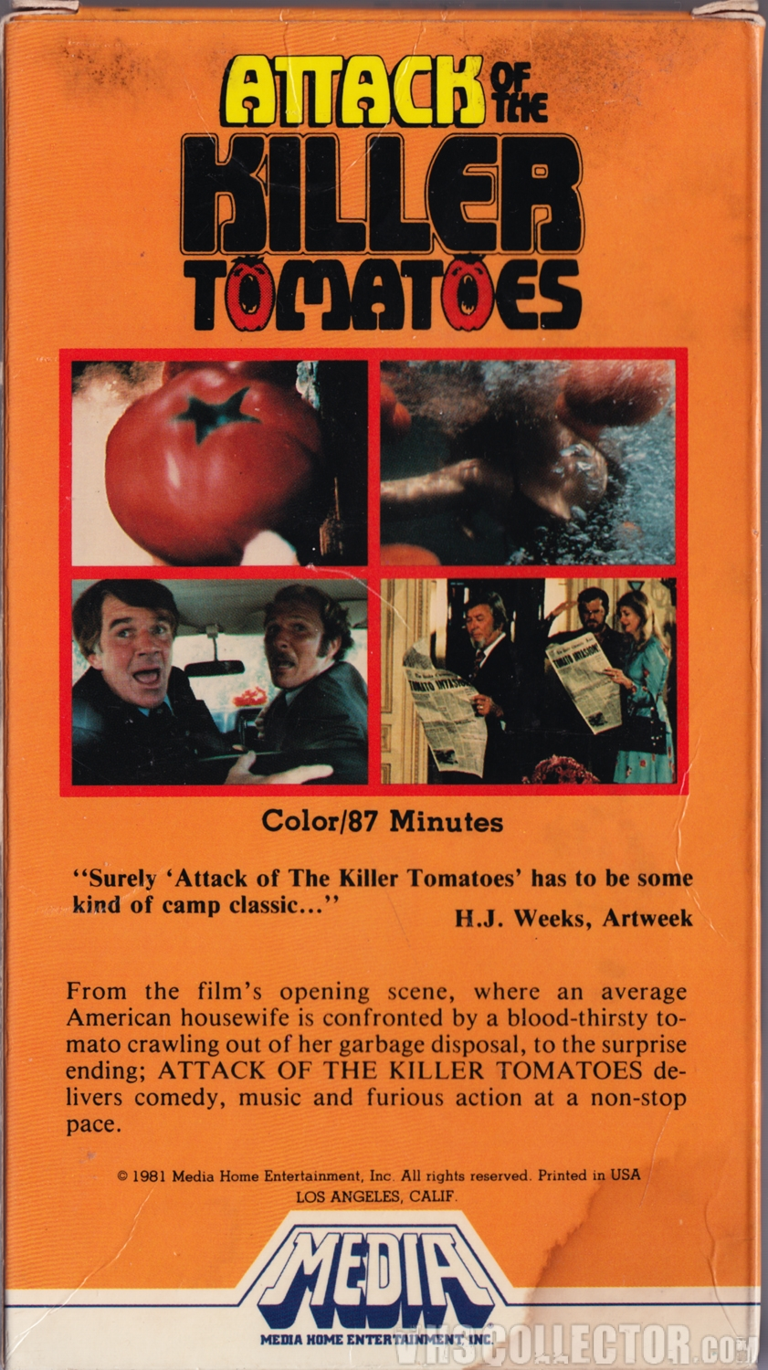 Image result for attack of the killer tomatoes  original