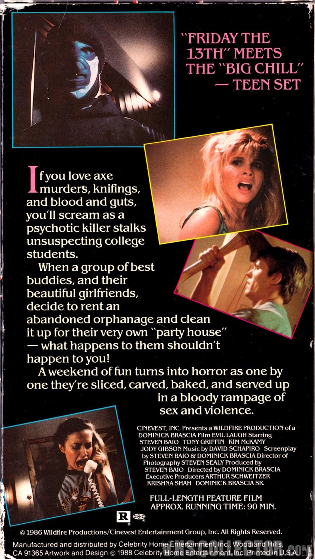 Evil Laugh | VHSCollector com