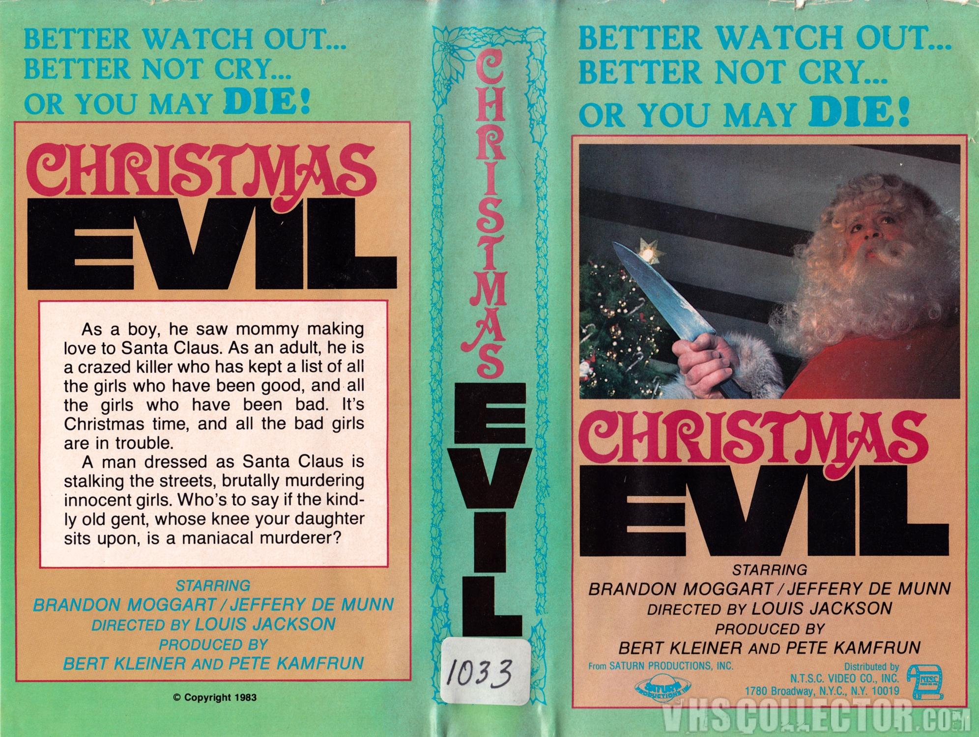 Christmas Evil 1980.Christmas Evil Vhscollector Com