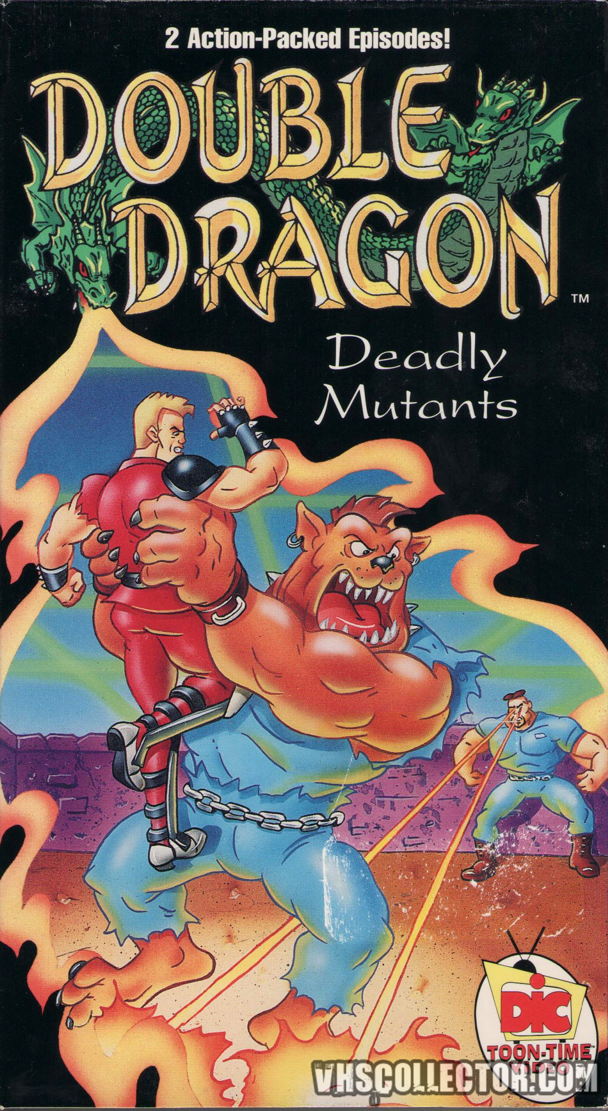 Double Dragon Deadly Mutants Vhscollector Com