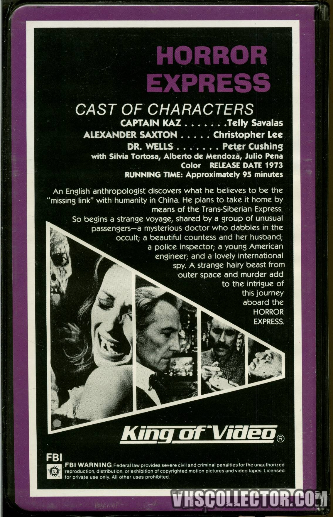 horror express 1972 cast
