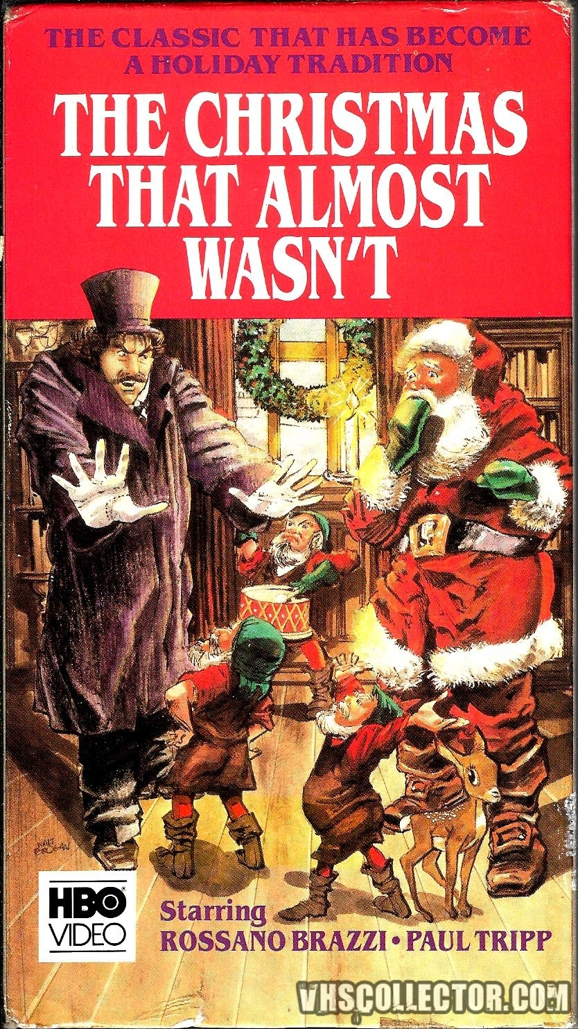Christmas That Almost Wasn T.The Christmas That Almost Wasn T Vhscollector Com