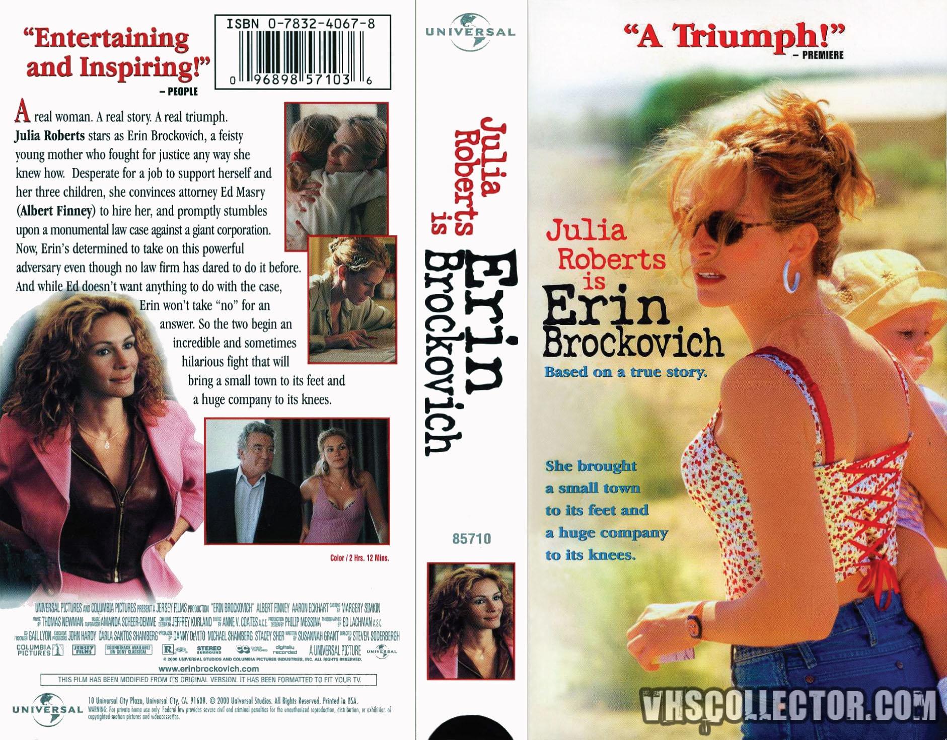 Erin Brockovich Vhscollector Com