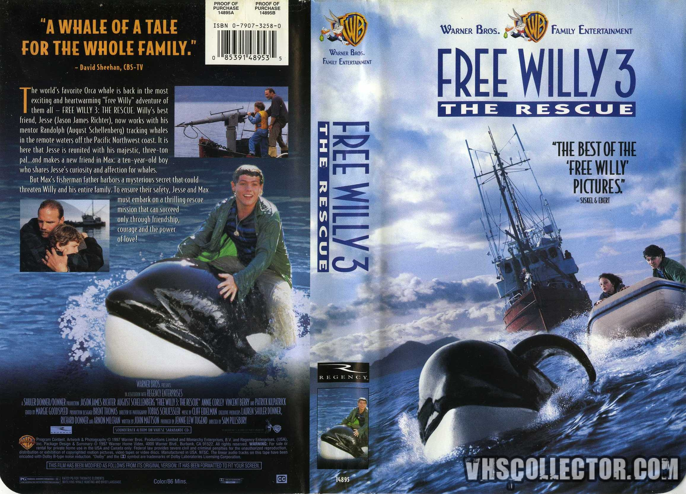 Free Willy 3: The Rescue - Wikipedia