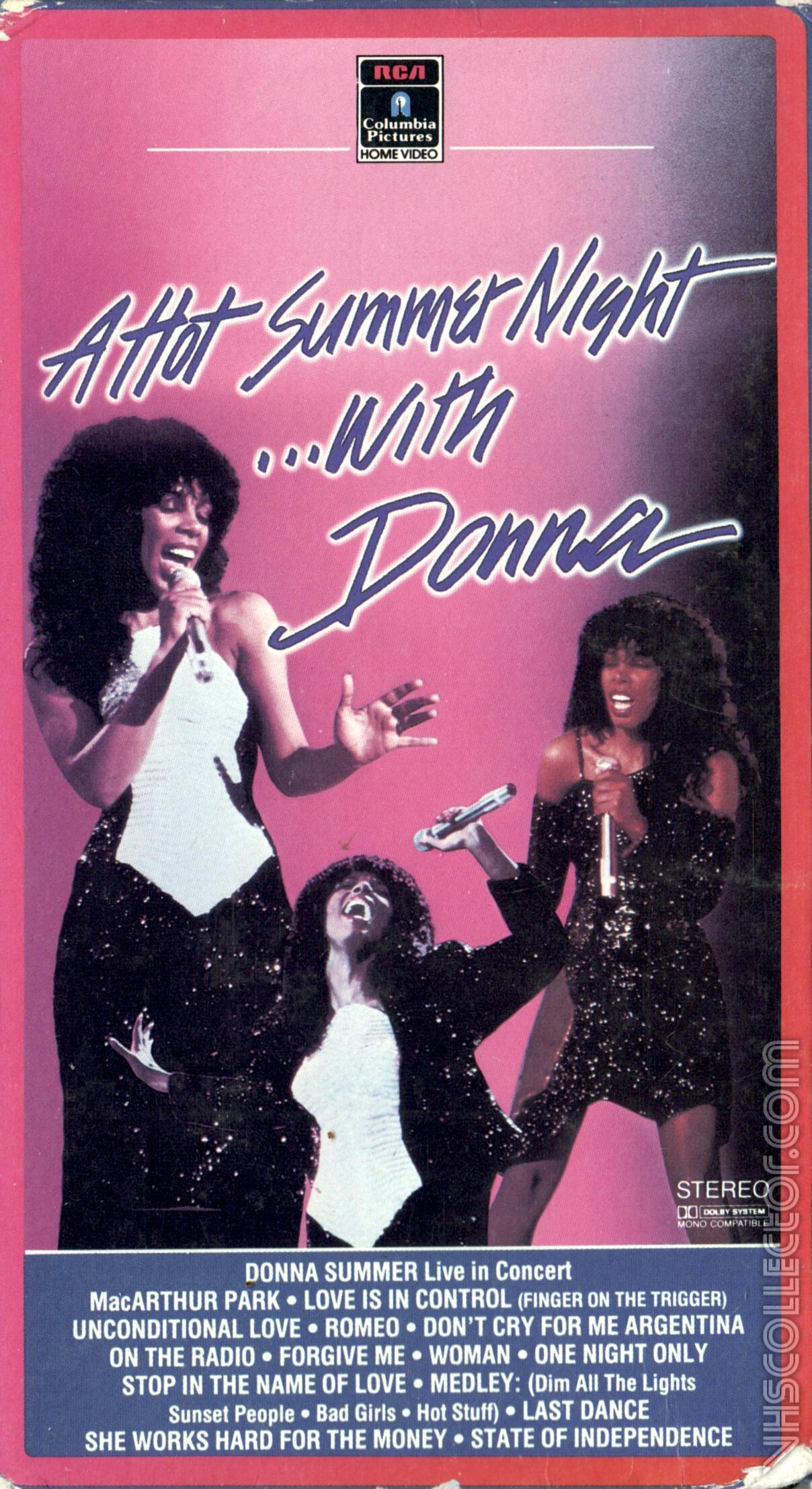 A Hot Summer Night    With Donna | VHSCollector com