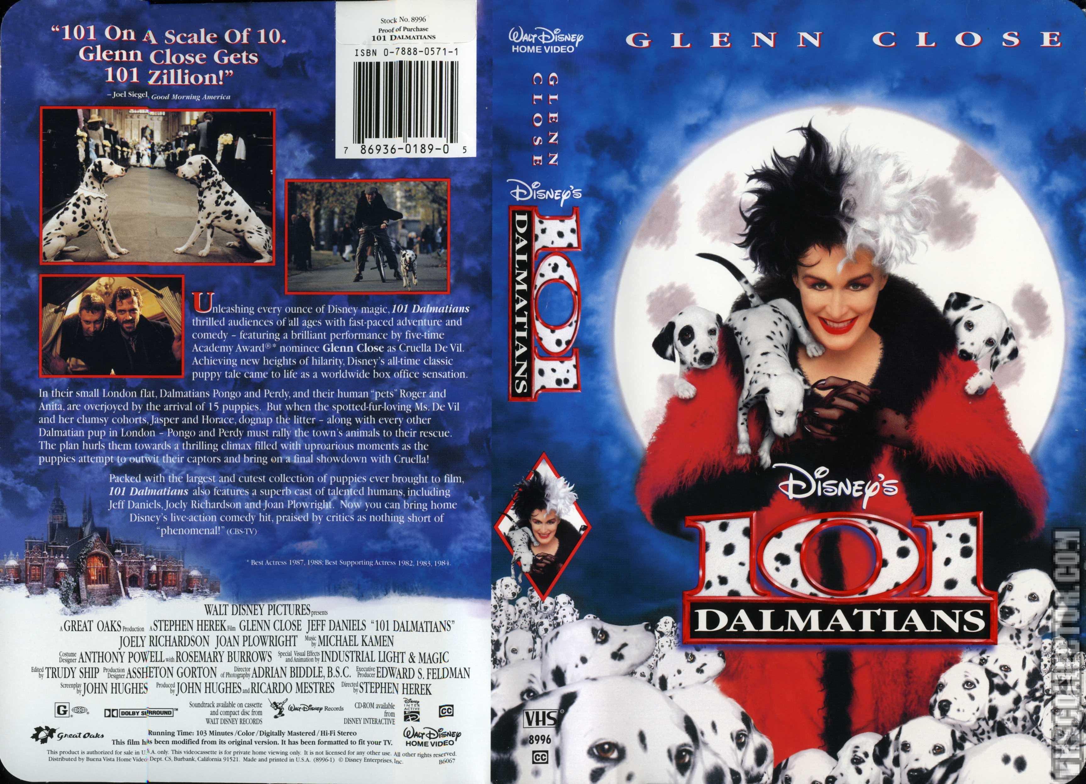 101 Dalmatians Vhscollector Com