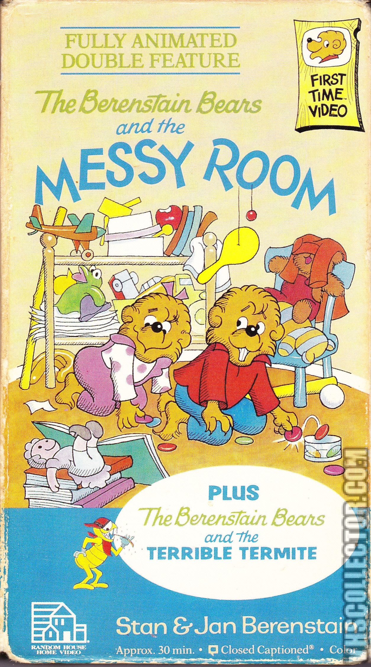 The Berenstain Bears And The Messy Room Vhscollector Com