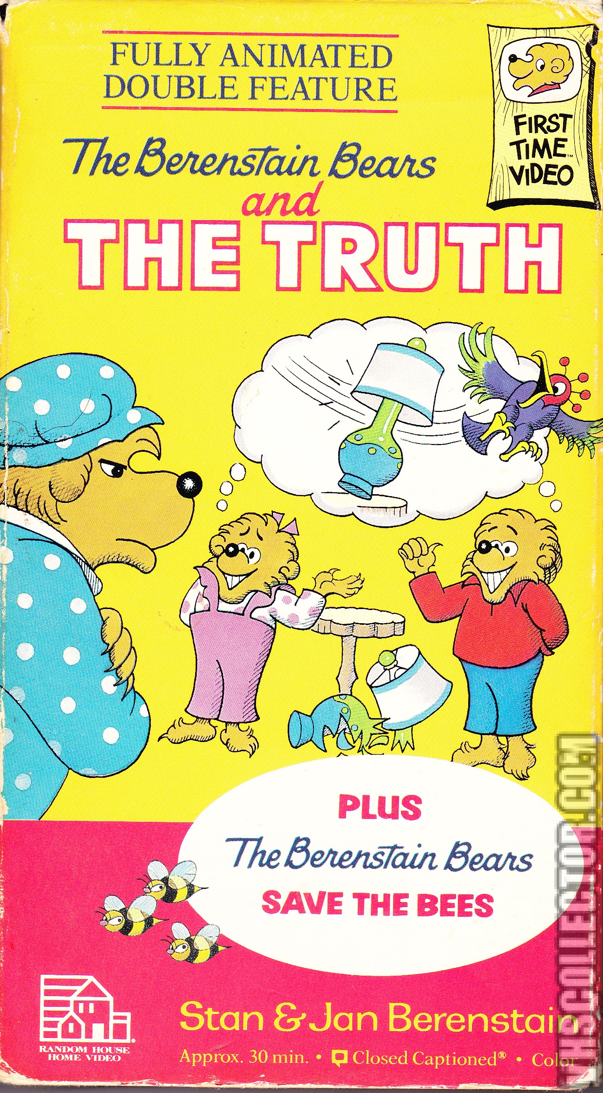 The Berenstain Bears And The Truth Vhscollector Com