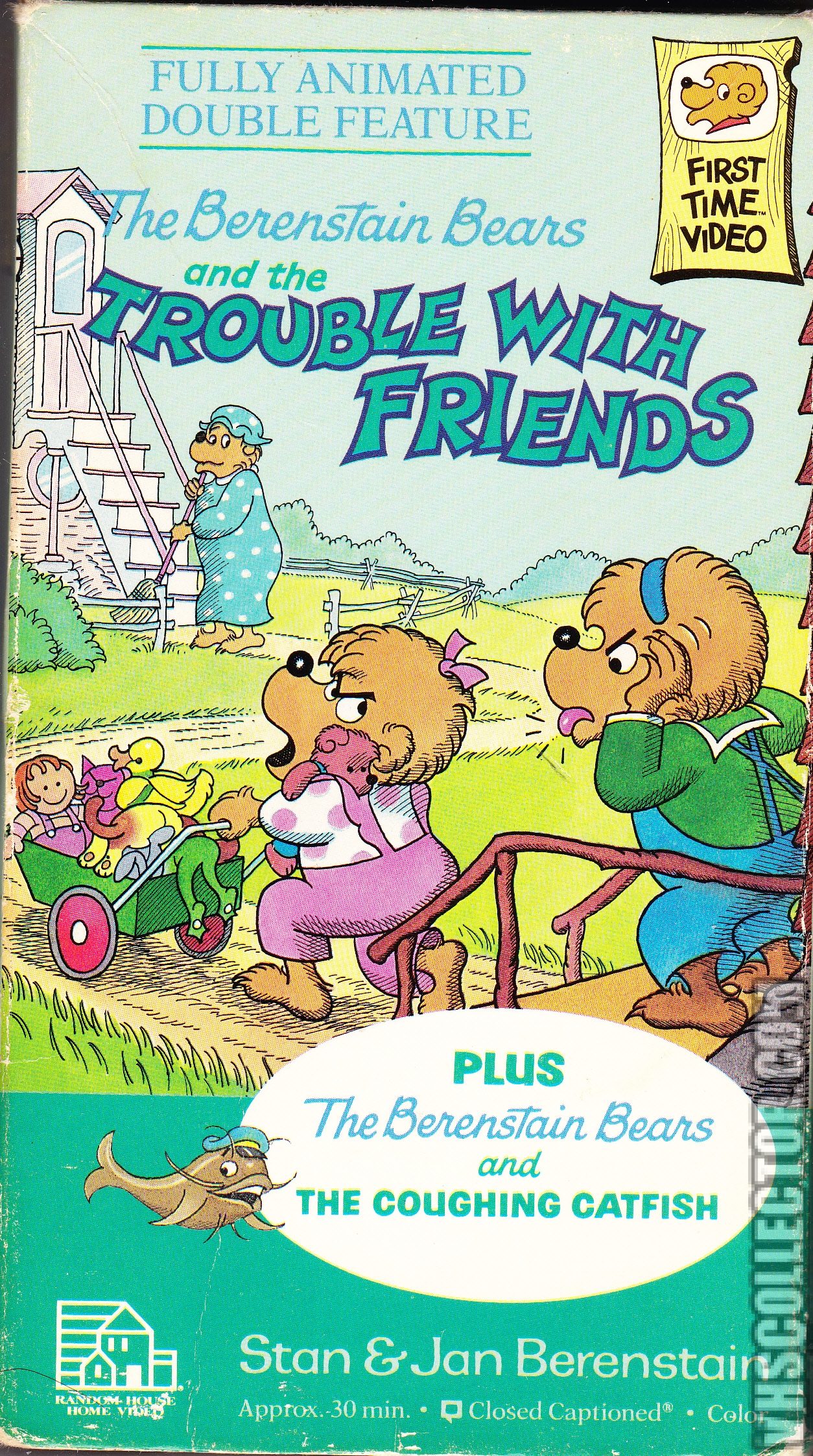 The Berenstain Bears And The Trouble With Friends Vhscollector Com