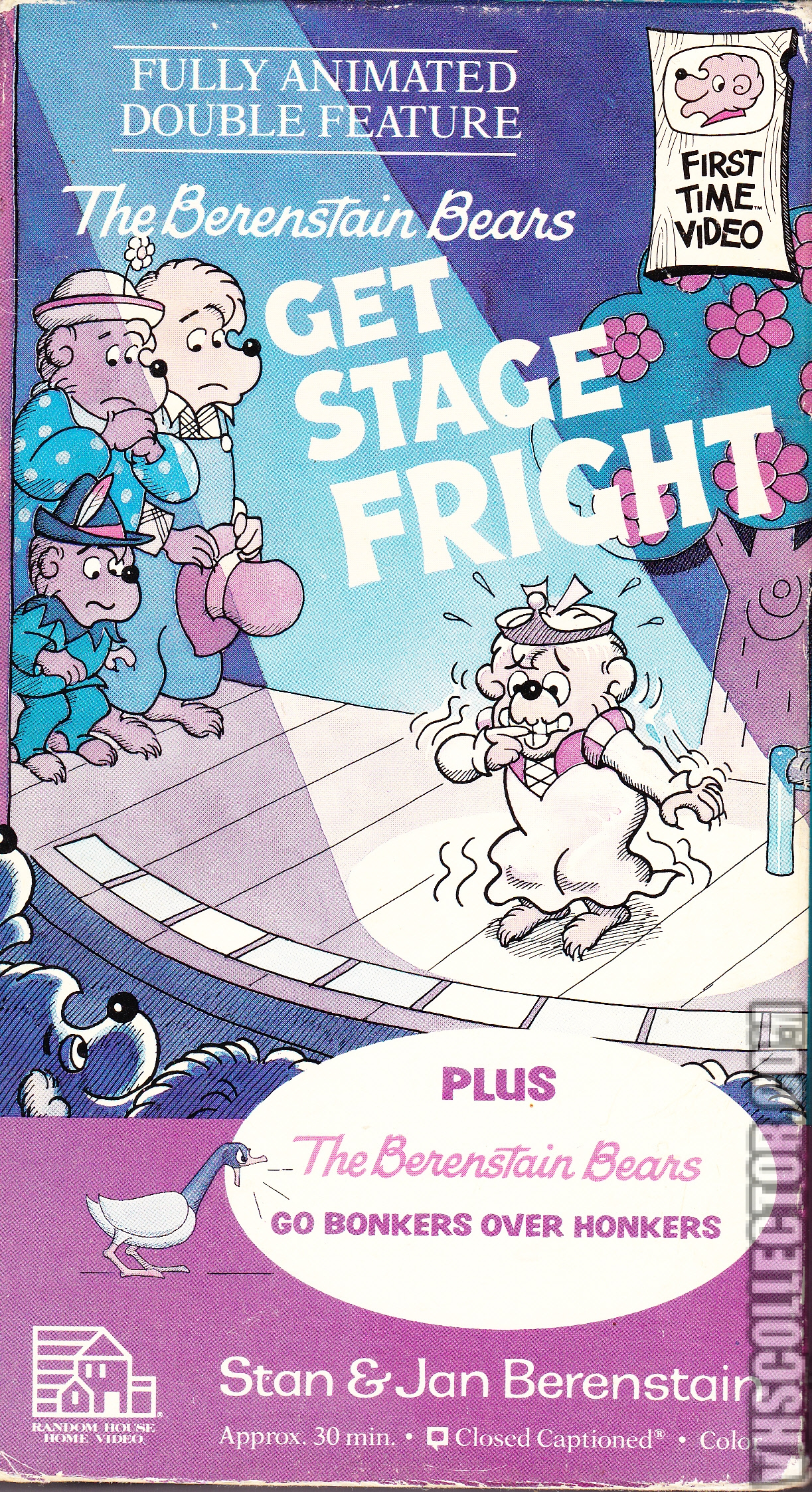 The Berenstain Bears Get Stage Fright Vhscollector Com