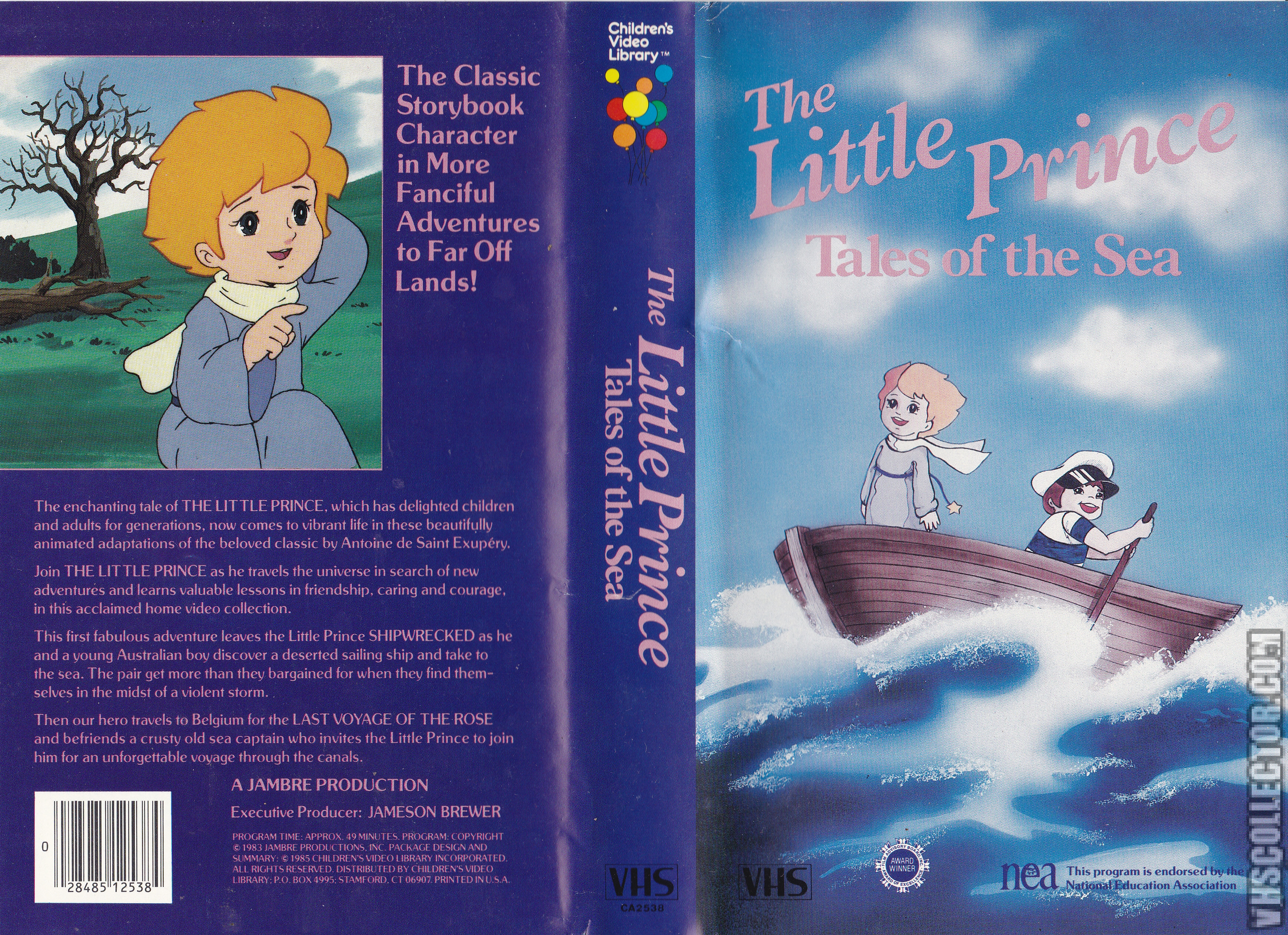 The Little Prince Tales Of The Sea Vhscollector Com