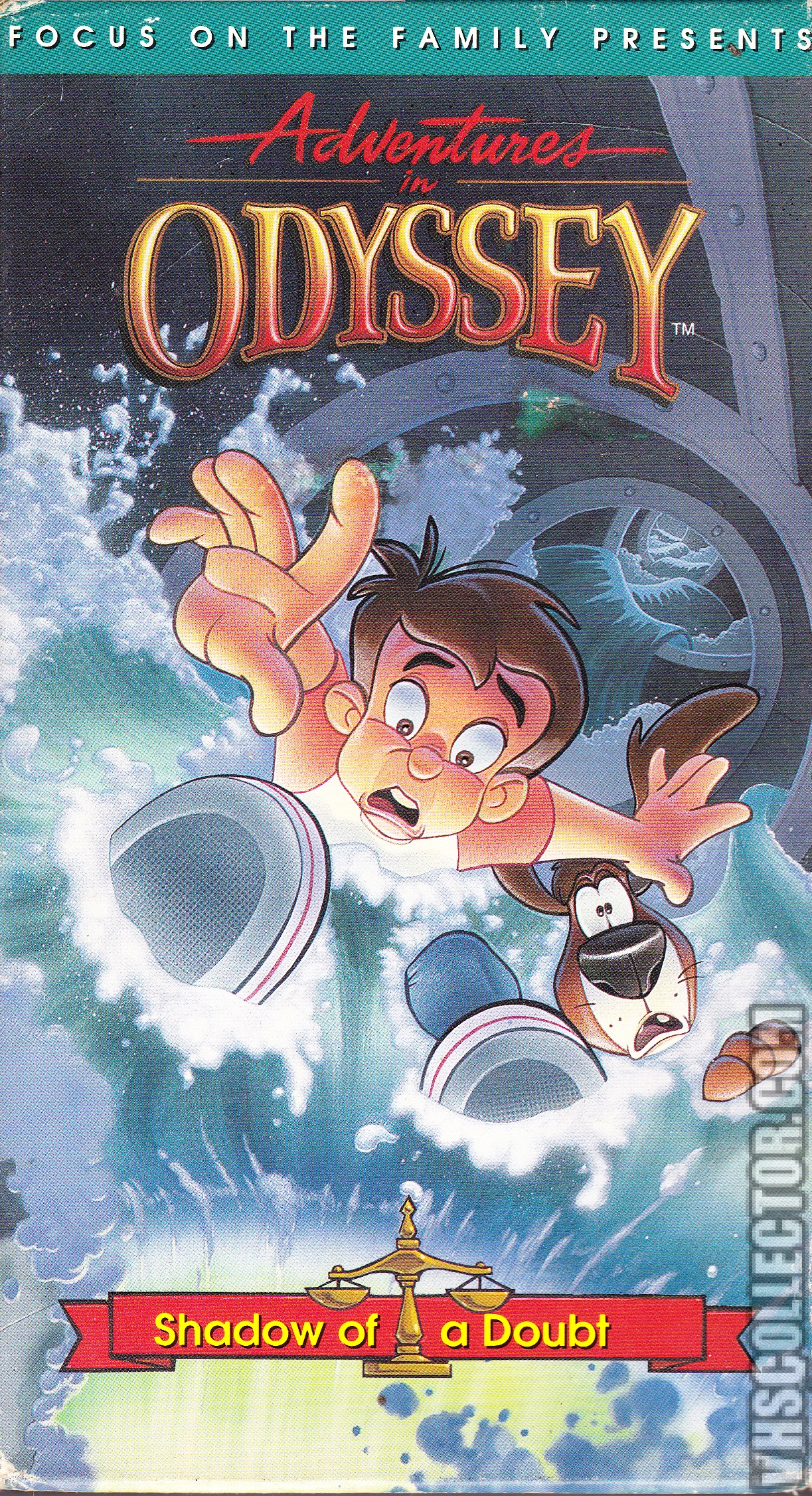 Adventures In Odyssey Shadow Of A Doubt Vhscollector Com