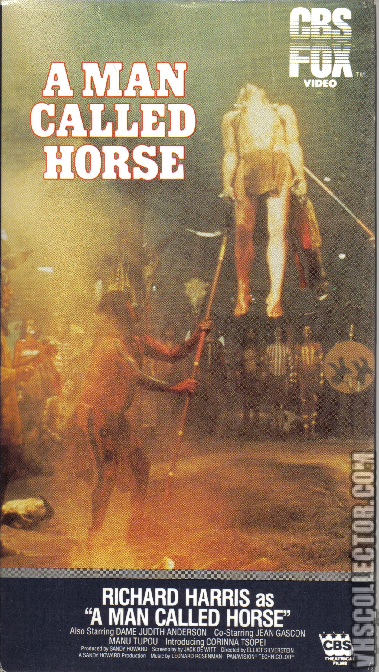 A Man Called Horse Vhscollector Com A Man Called Horse