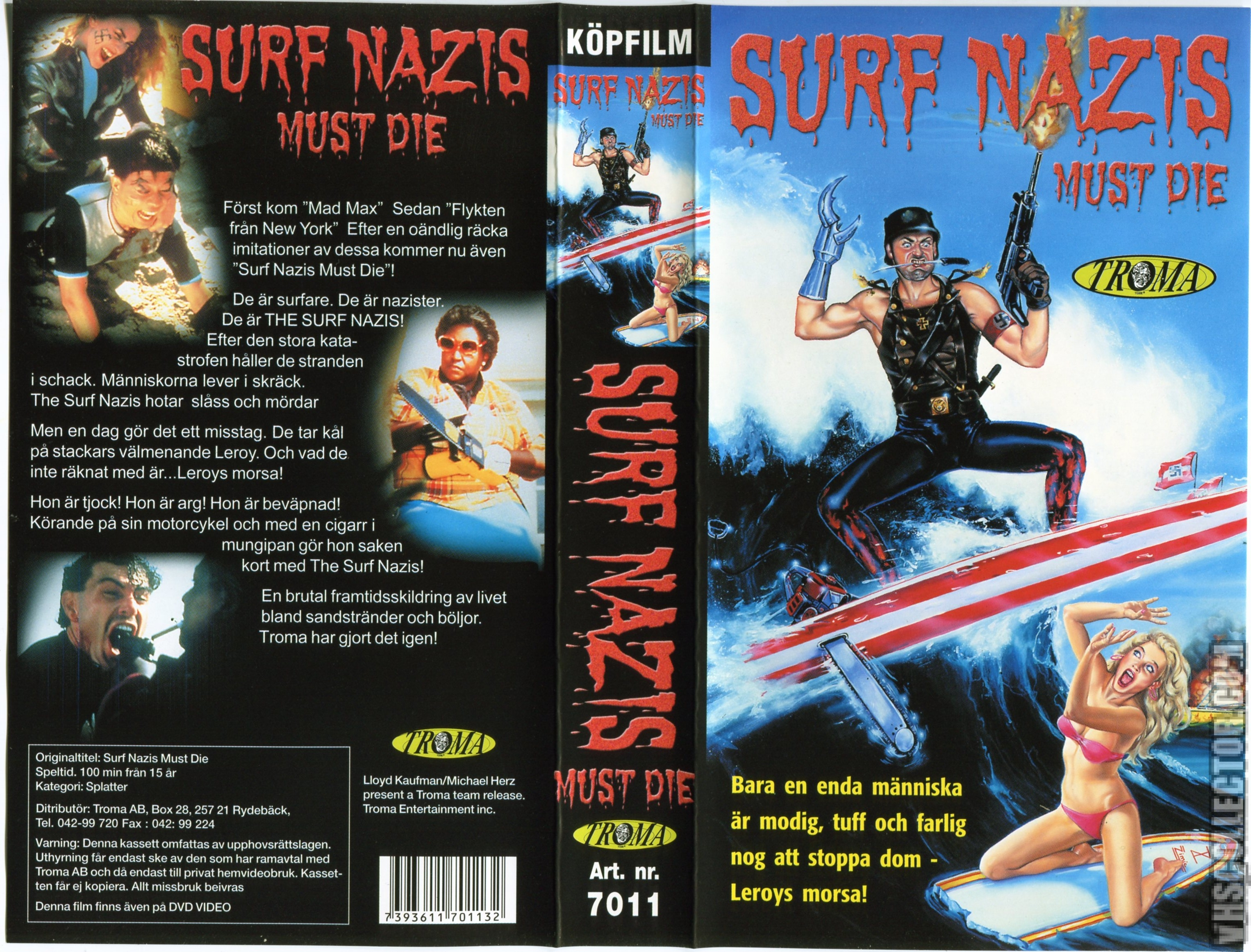 Surf Nazis Must Die Movie Poster Large 24inx36in Ebay 0