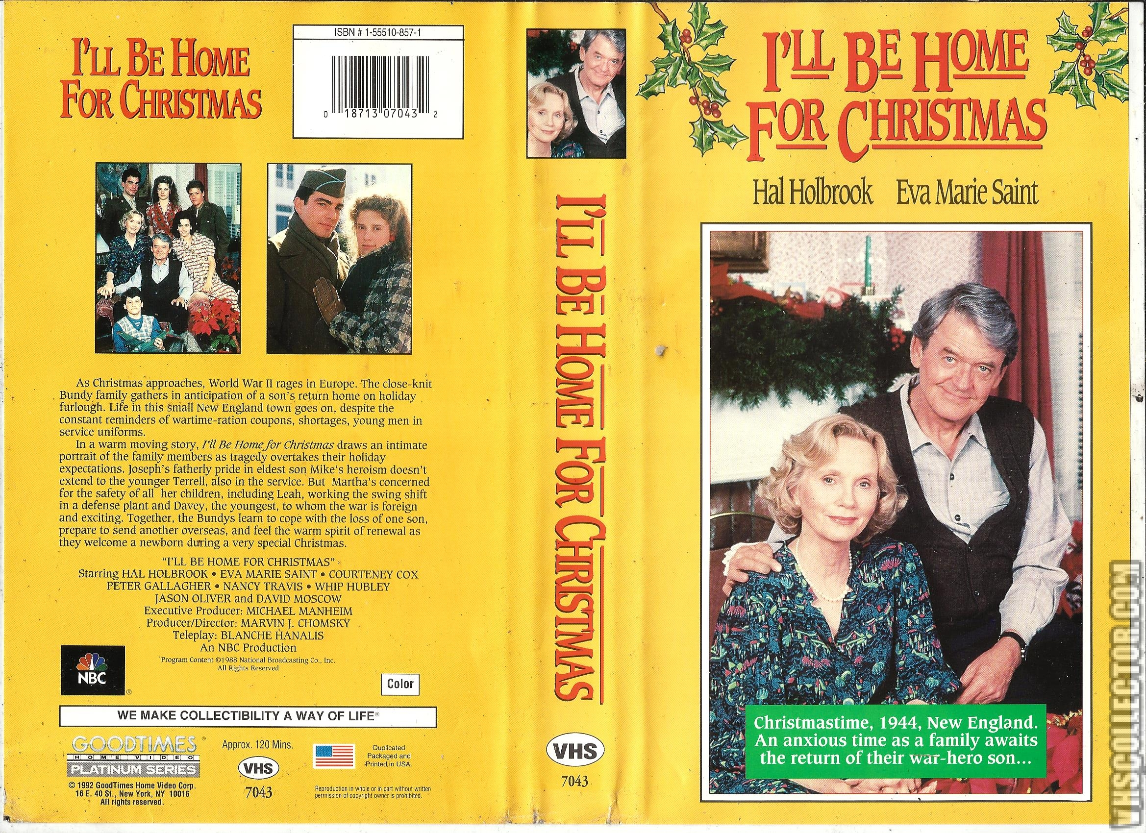 Ill Be Home For Christmas Vhs.I Ll Be Home For Christmas Vhscollector Com