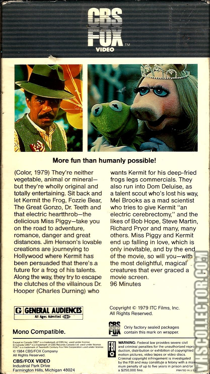 The Muppet Movie | VHSCollector.com