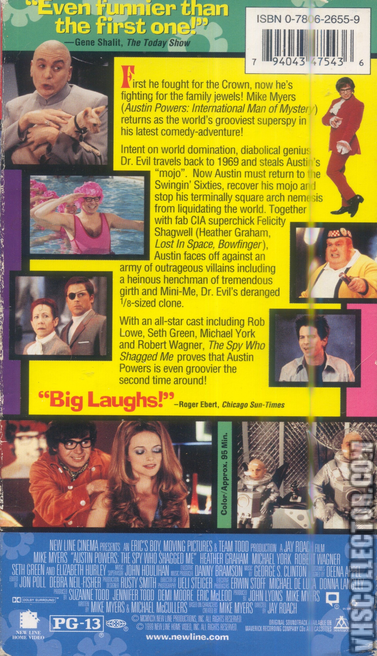 Austin Powers The Spy Who Shagged Me Vhscollector Com