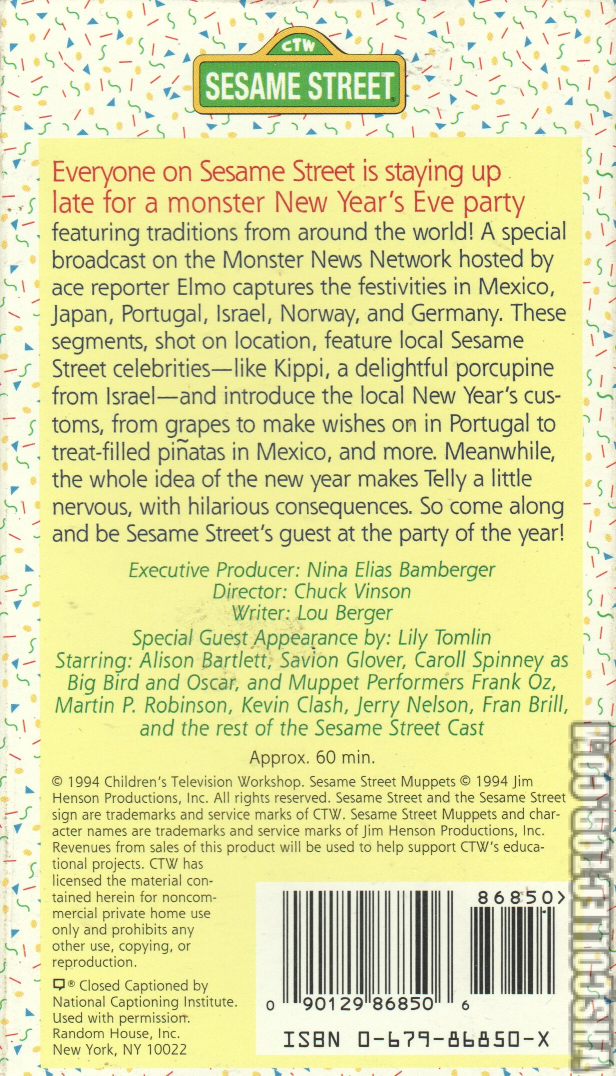 Sesame Street Celebrates Around The World | VHSCollector