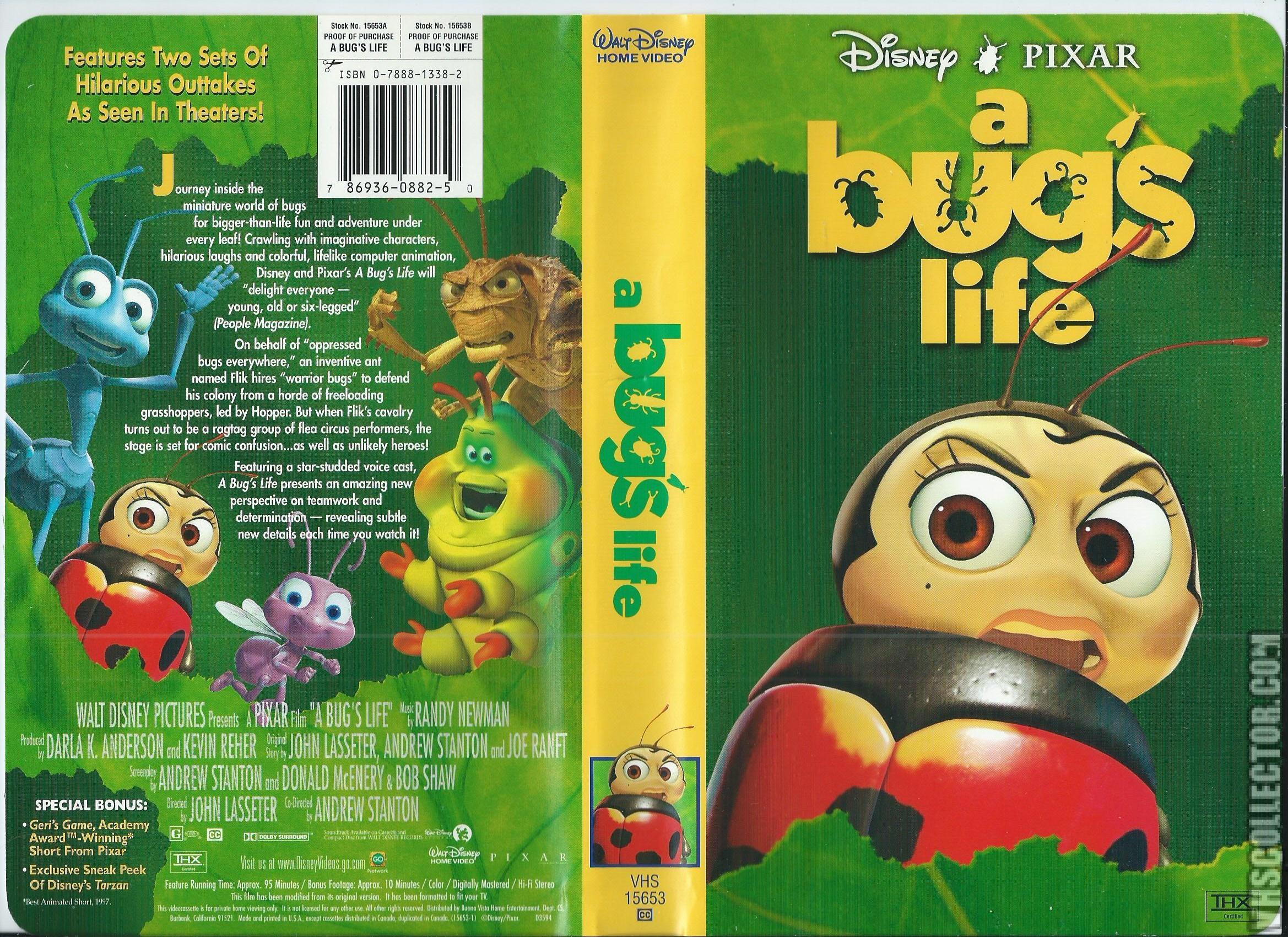 A Bug S Life Vhscollector Com