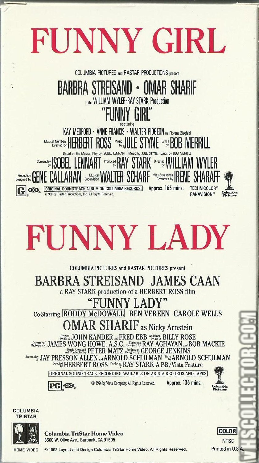 Funny Girl / Funny Lady | VHSCollector com