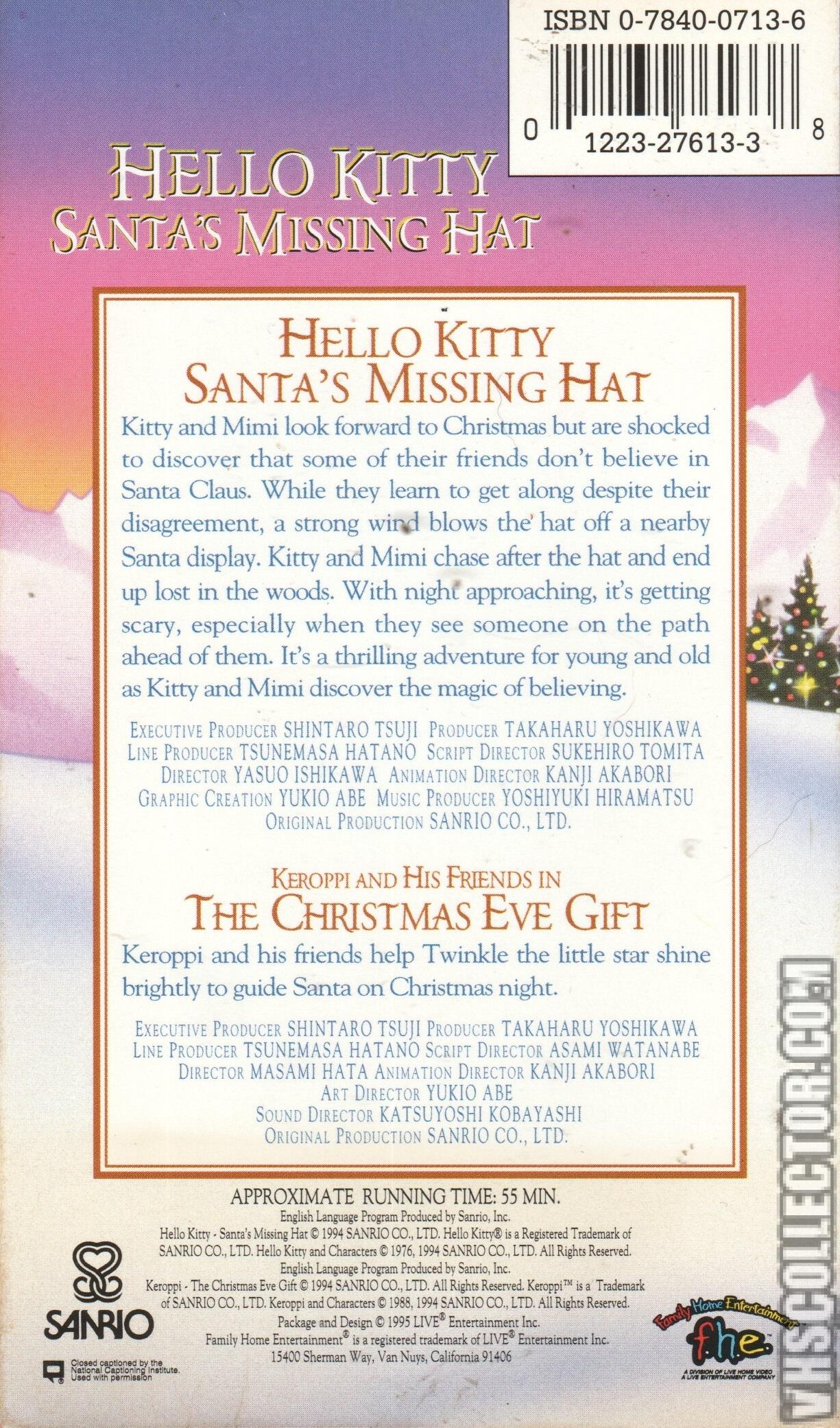 1e469a2f20313 Hello Kitty  Santa s Missing Hat