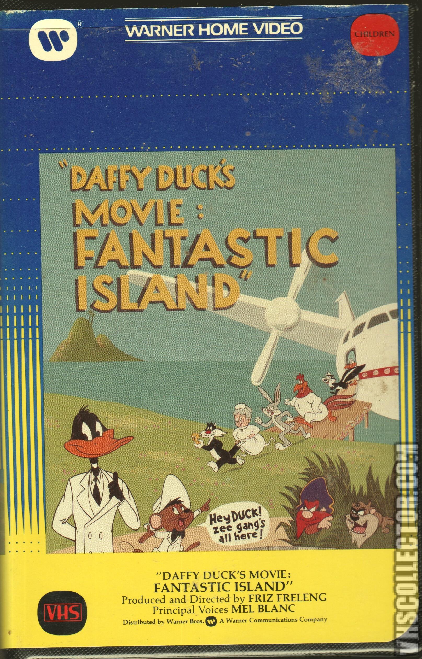 daffy ducks fantastic island 1983