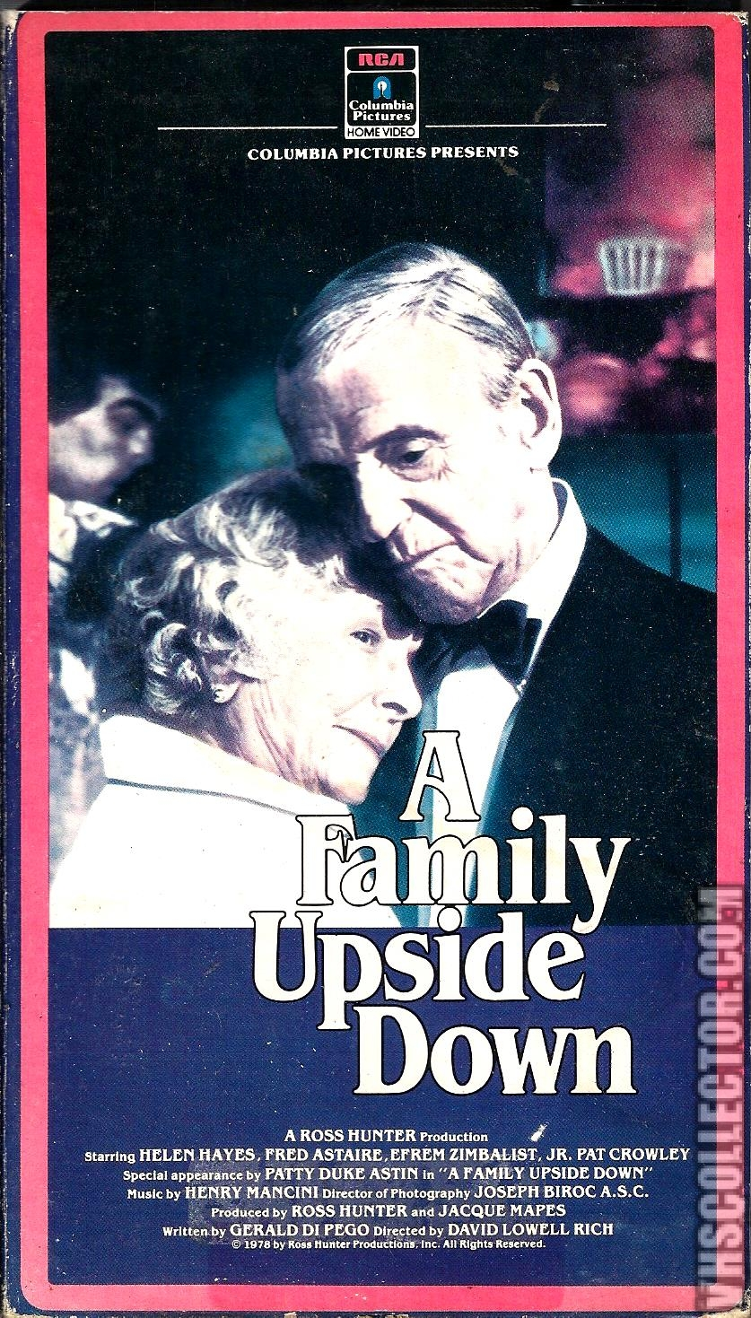 A Family Upside Down | VHSCollector com