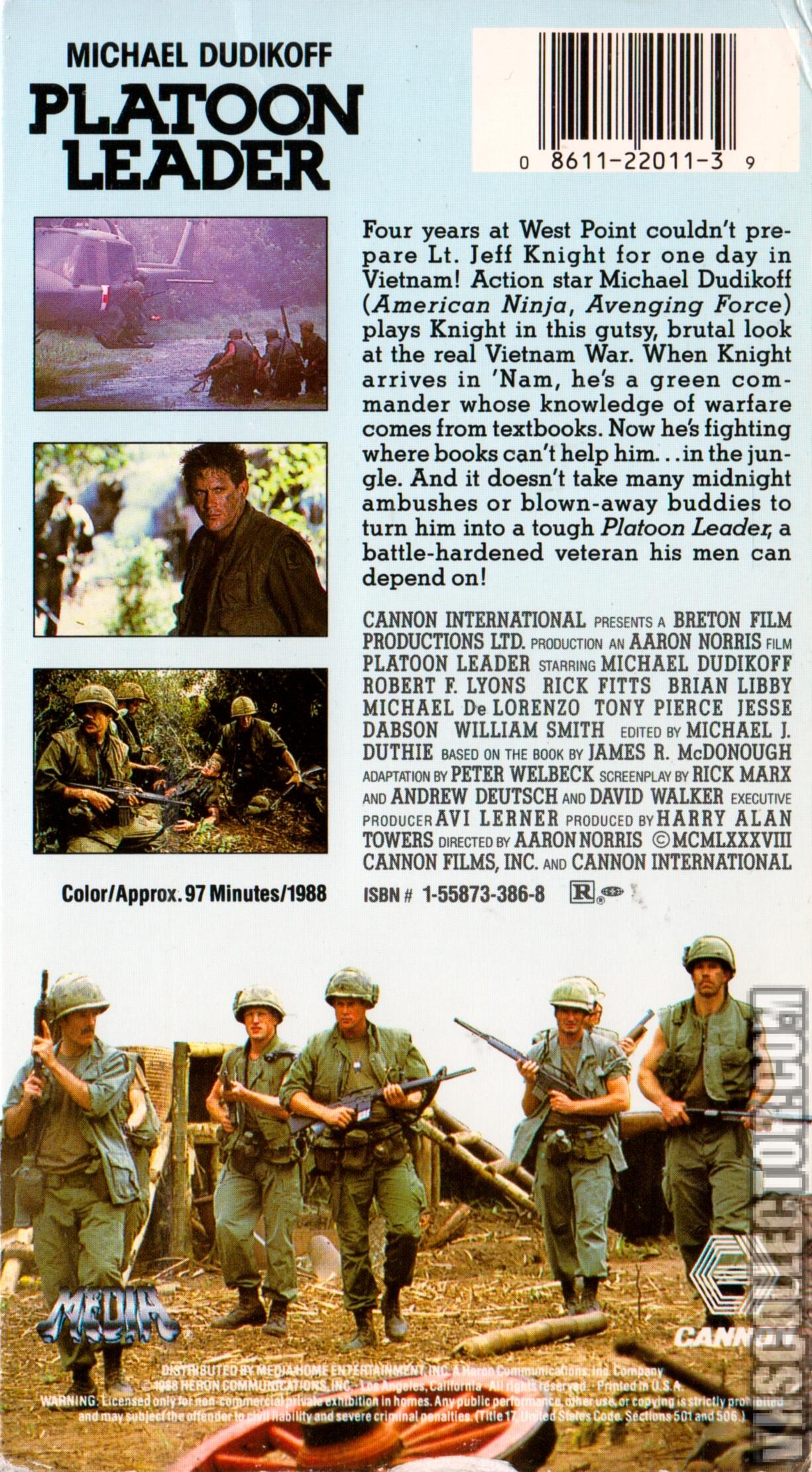 Platoon Leader | VHSCollector com