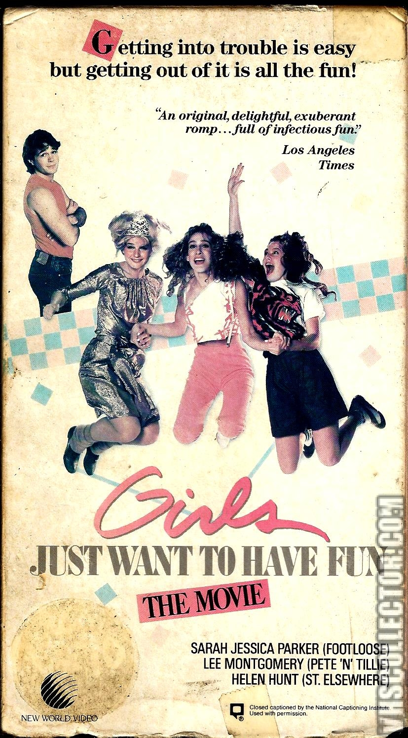 Girls Just Want To girls just want to have fun | vhscollector