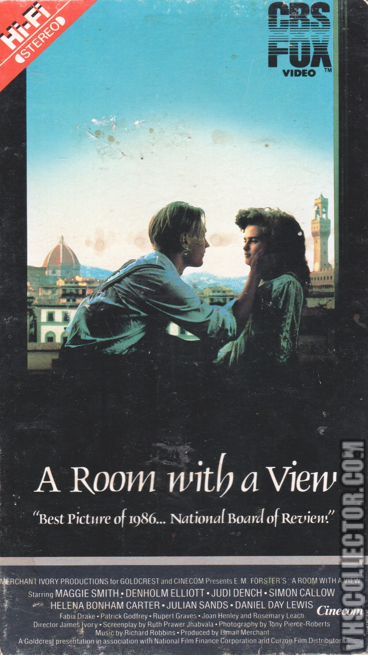 A Room With A View Vhscollector