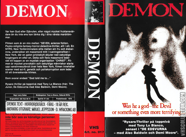 Demon | VHSCollector.com