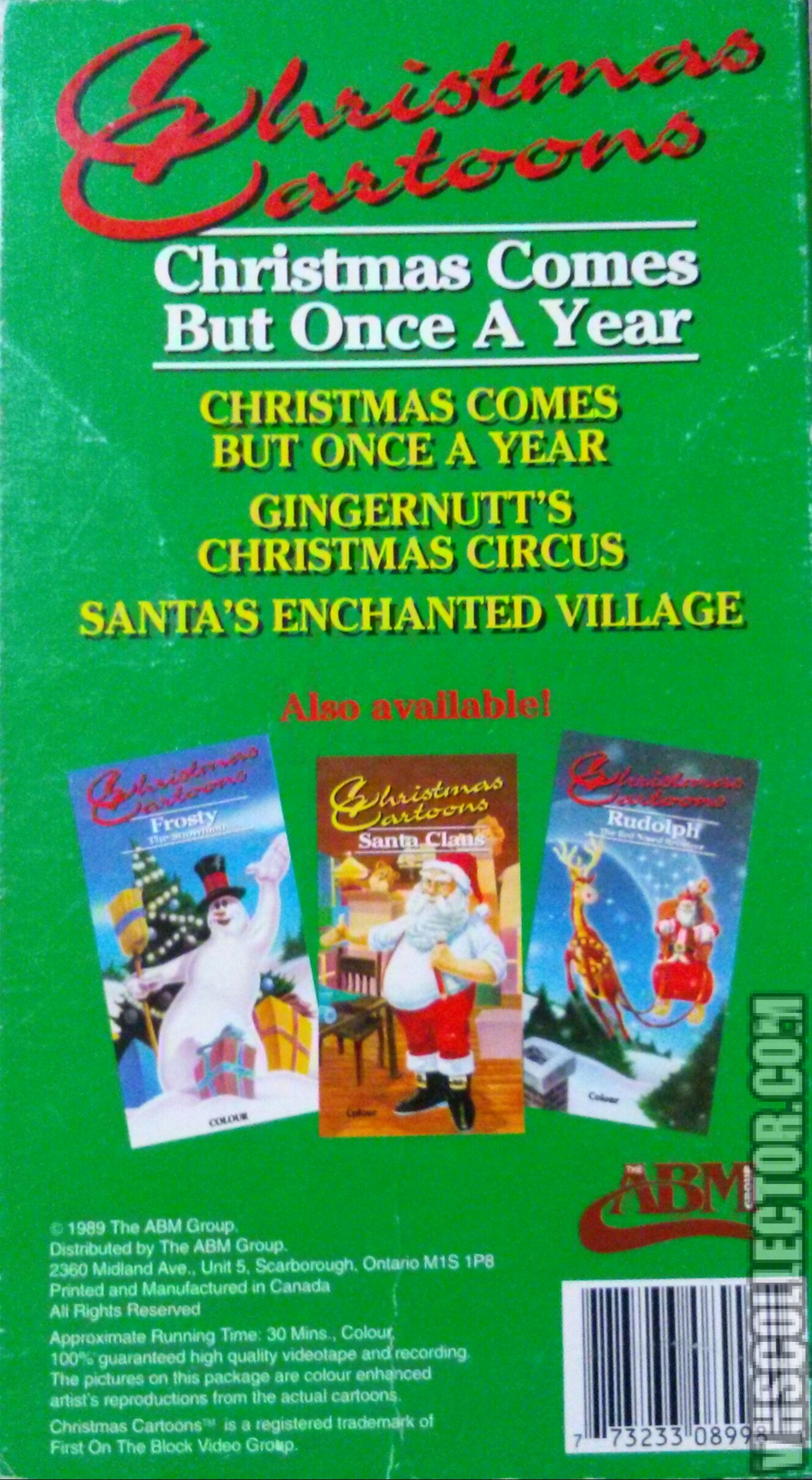 Christmas Comes But Once A Year Vhscollector Com