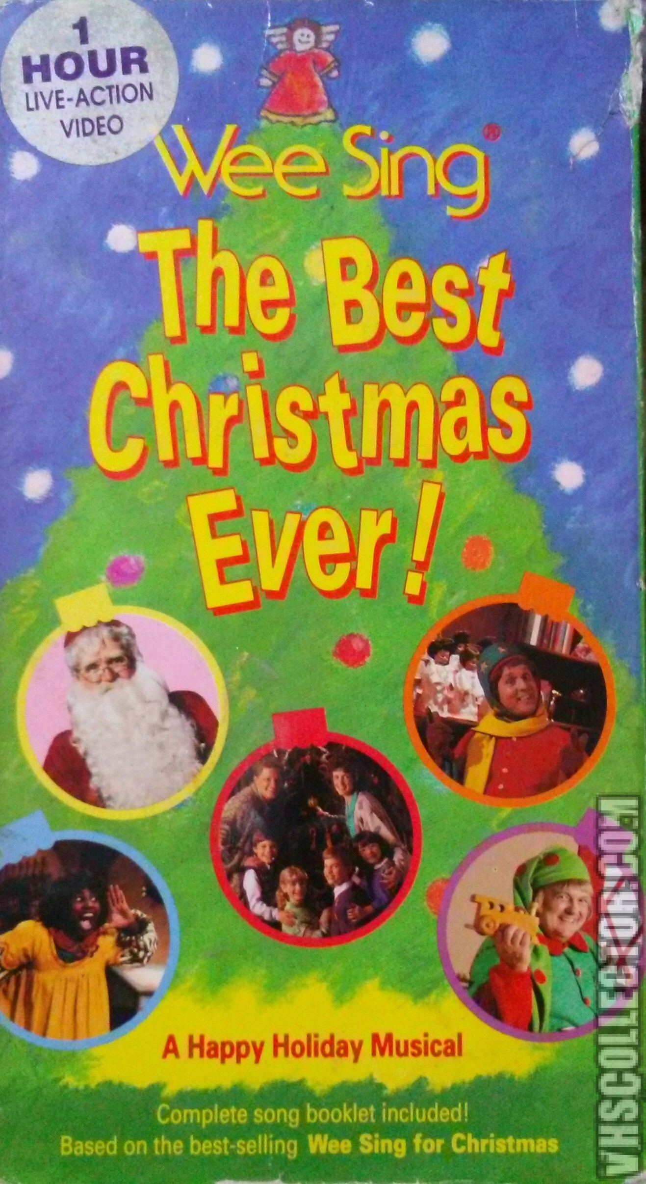 Wee Sing The Best Christmas Ever Vhs.Wee Sing The Best Christmas Ever Vhscollector Com