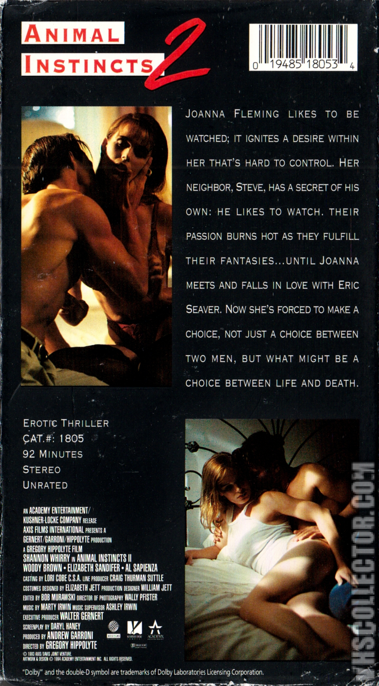 100 Images of Animal Instincts 2 1994