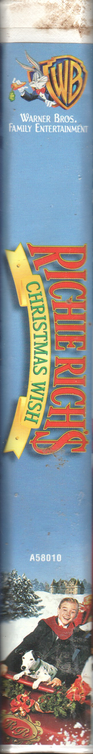 Richie Richs Christmas Wish.Richie Rich S Christmas Wish Vhscollector Com