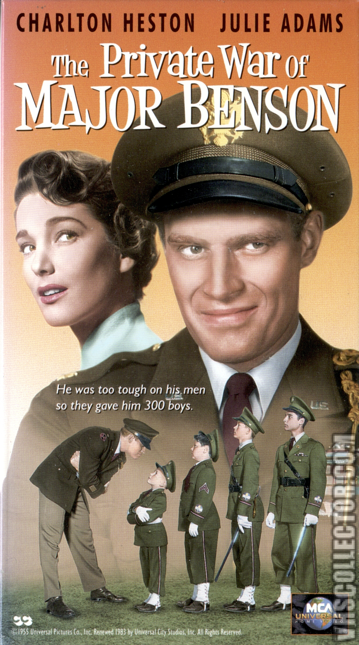 The Private War of Major Benson   VHSCollector.com