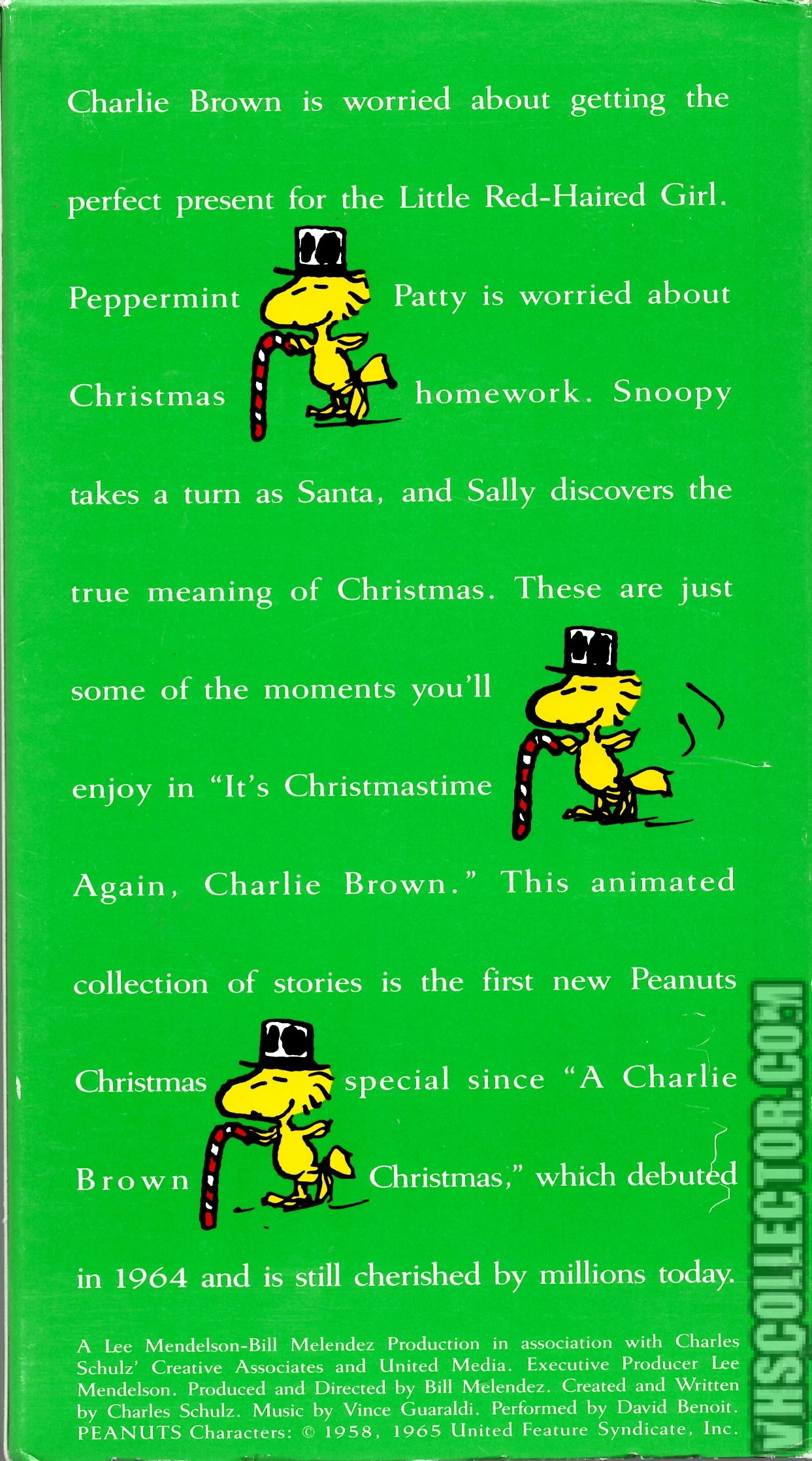 Its Christmas Time Again Charlie Brown.It S Christmastime Again Charlie Brown Vhscollector Com