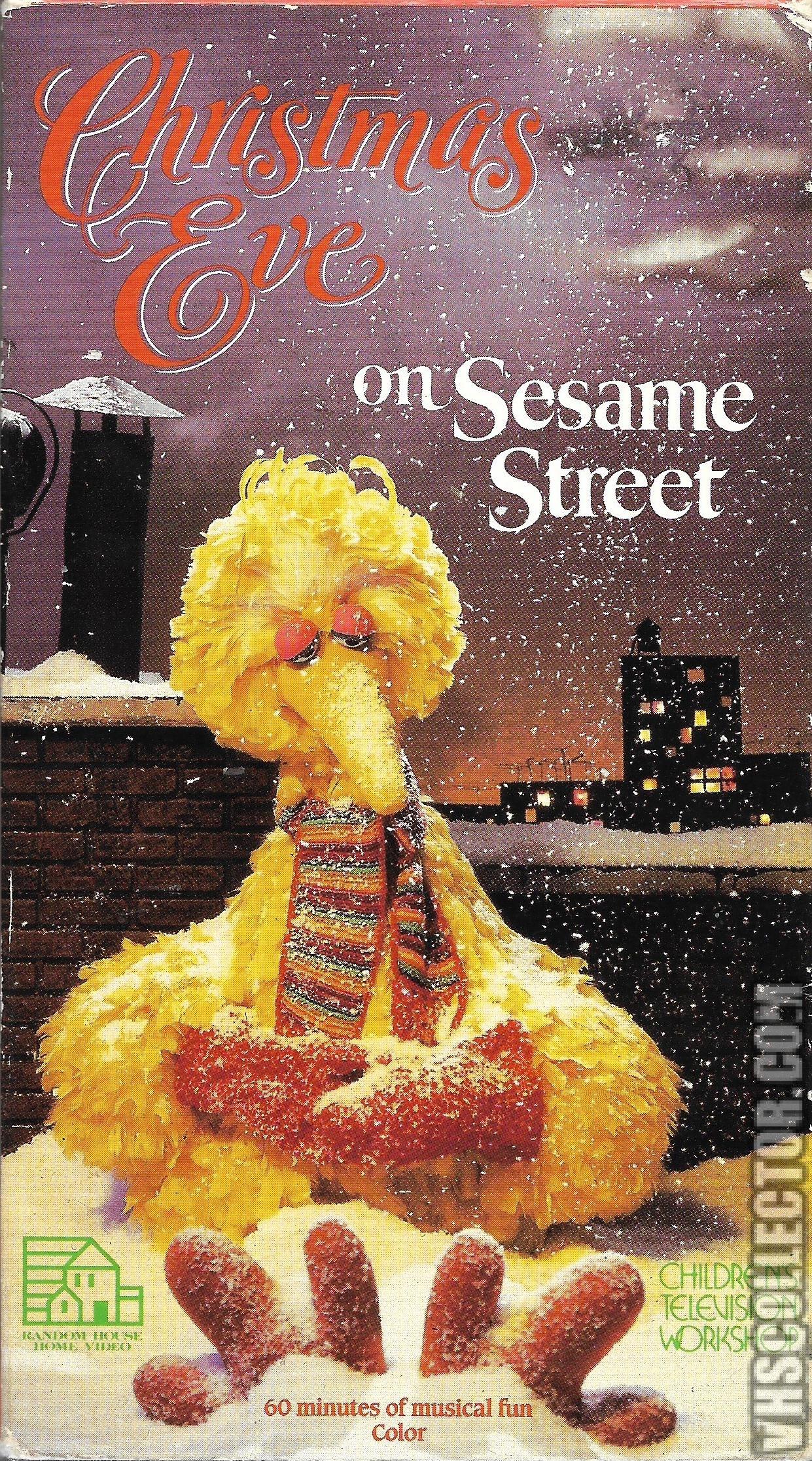 Christmas Eve On Sesame Street.Christmas Eve On Sesame Street Vhscollector Com