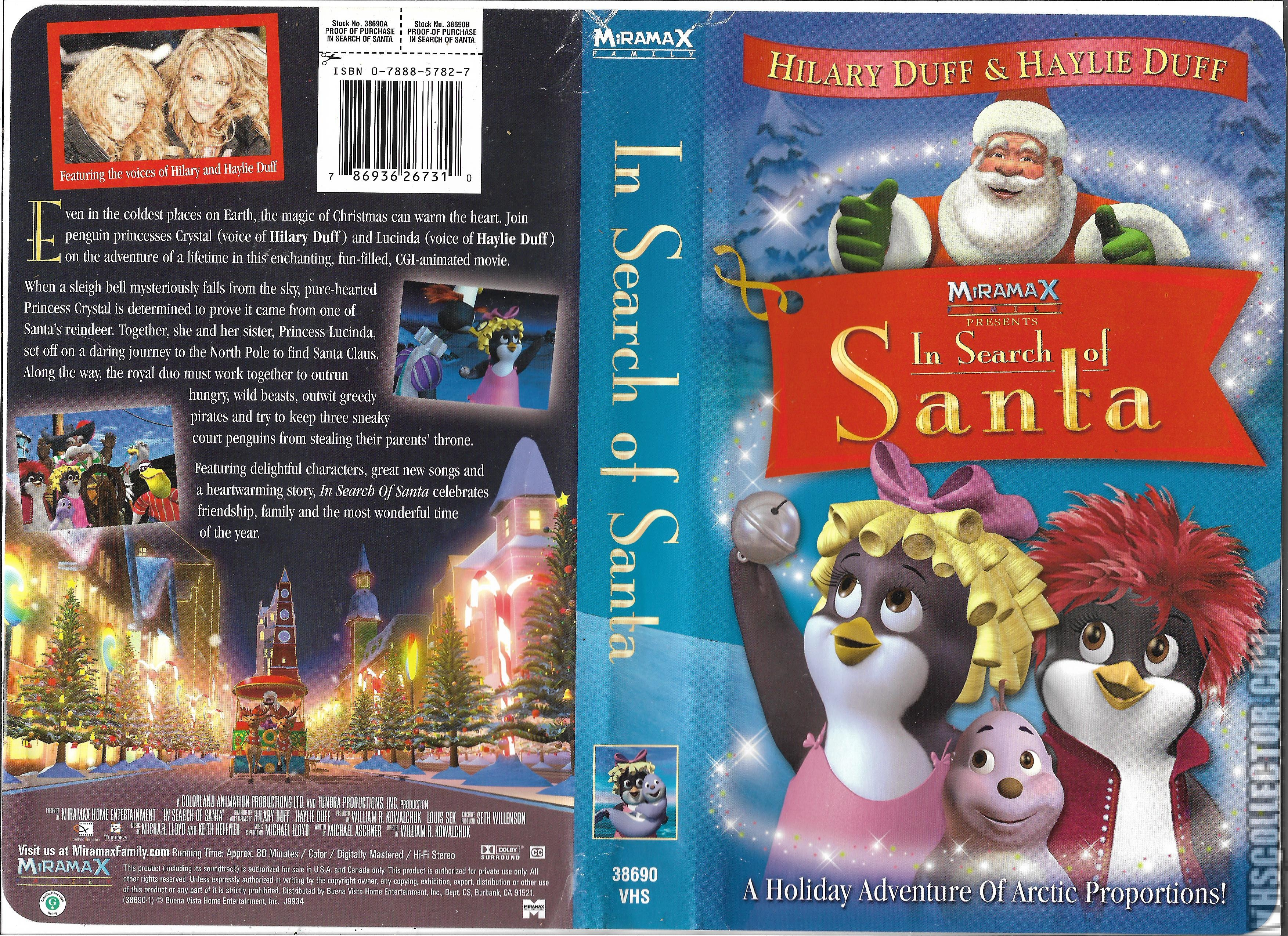 Eloise At Christmastime Vhs.In Search Of Santa Vhscollector Com