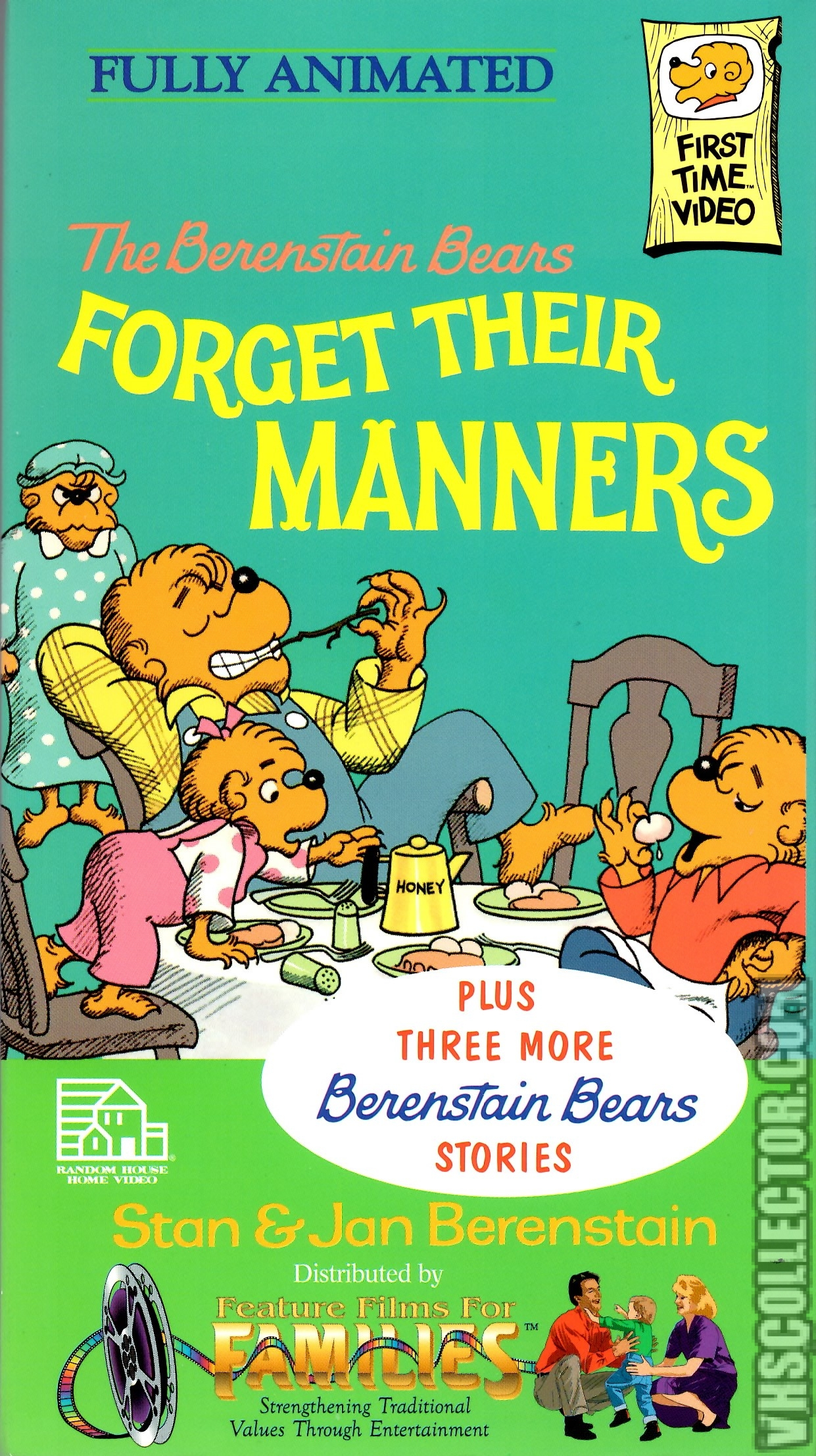 The Berenstain Bears Forget Their Manners Vhscollector Com