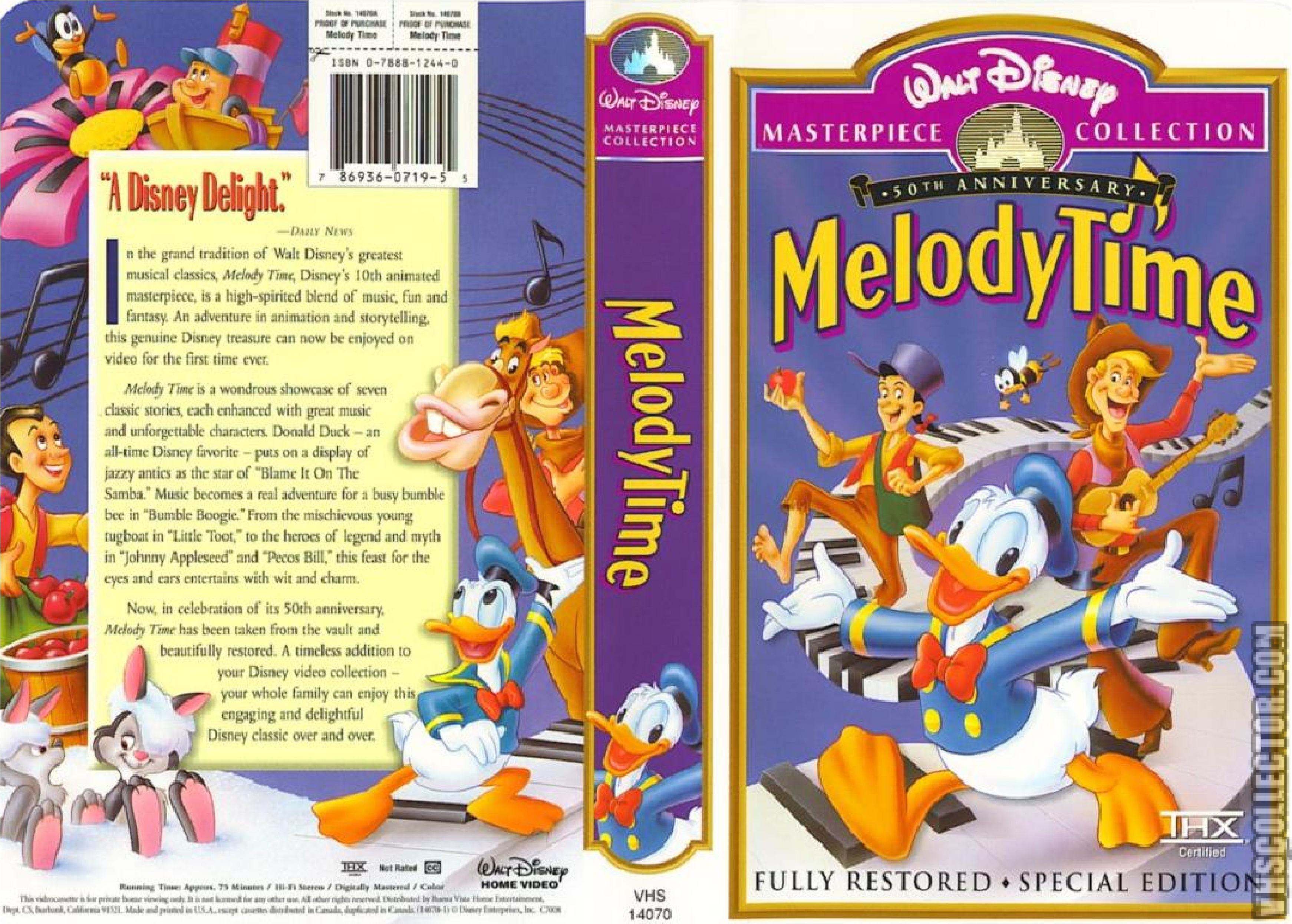 Melody Time Vhscollector Com