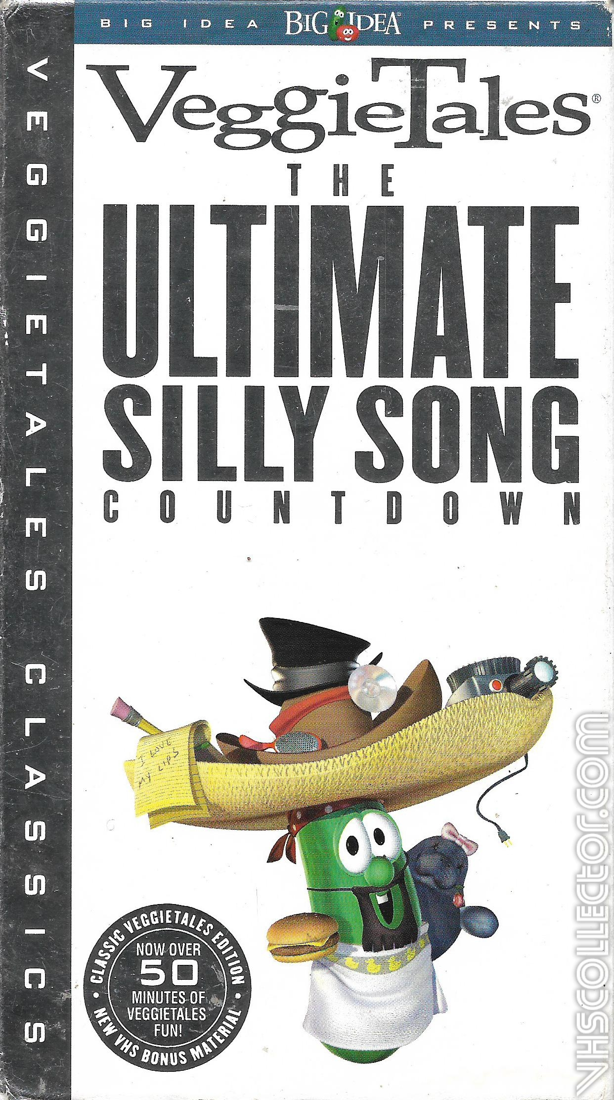 The Ultimate Guide To Paint Brush Types: Veggietales:The Ultimate Silly Song Countdown