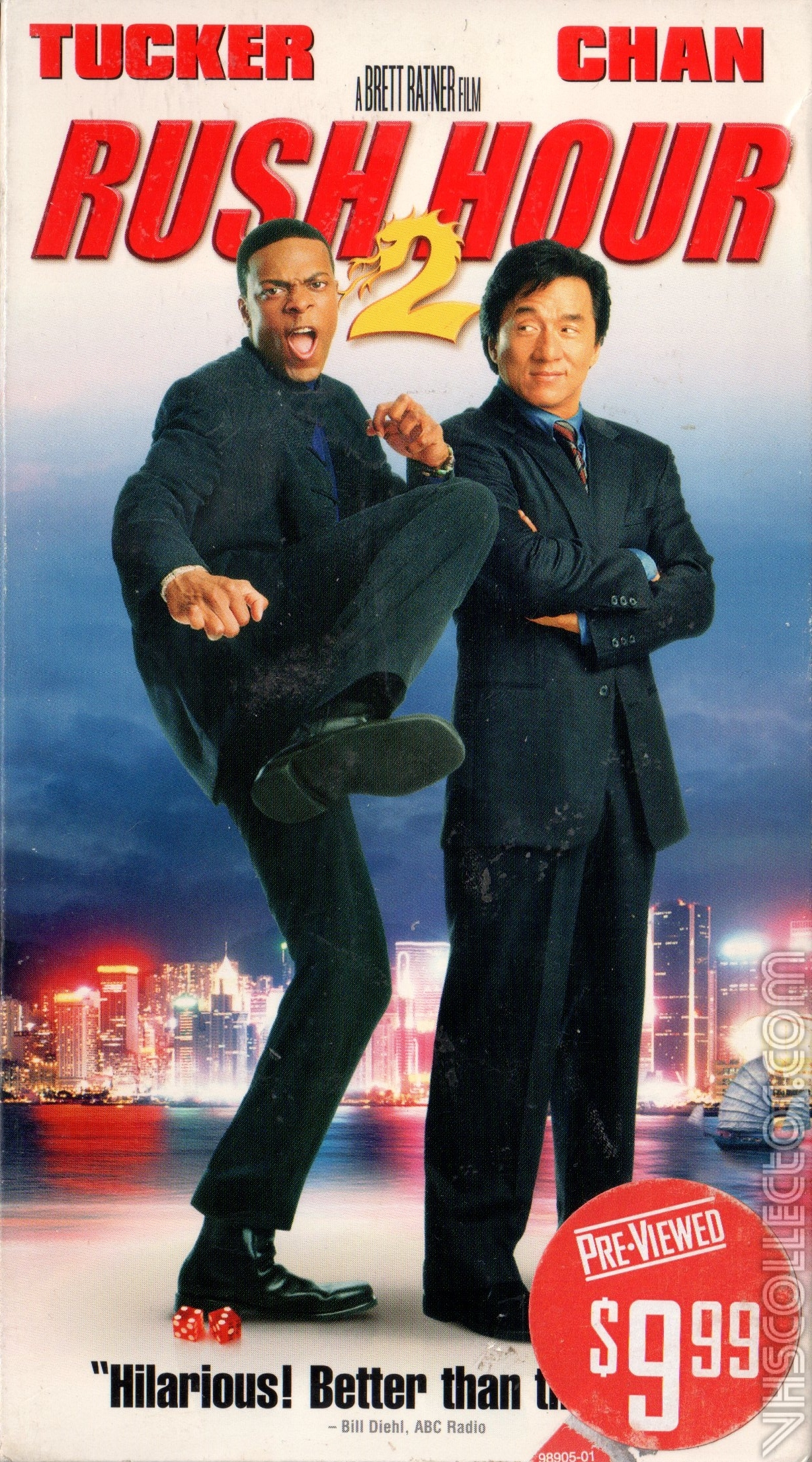 Rush Hour 2 Vhscollector Com