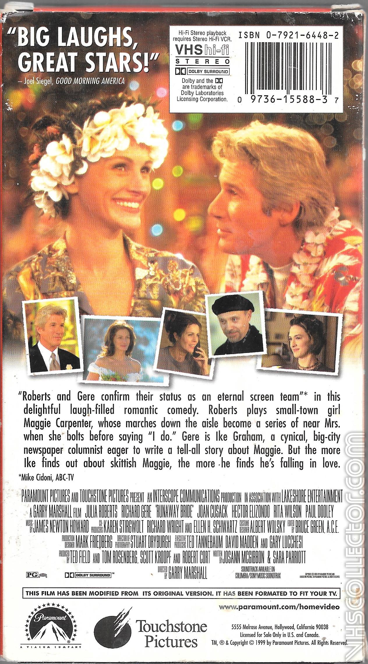 tiffany&co官网_Runaway Bride   VHSCollector.com