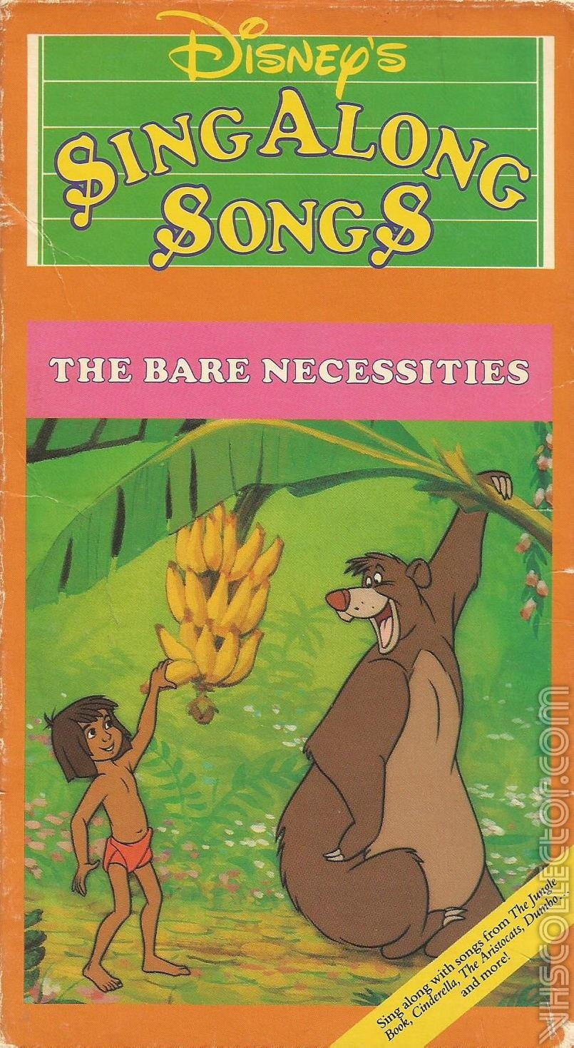 Disney S Sing Along Songs Volume 3 The Bare Necessities