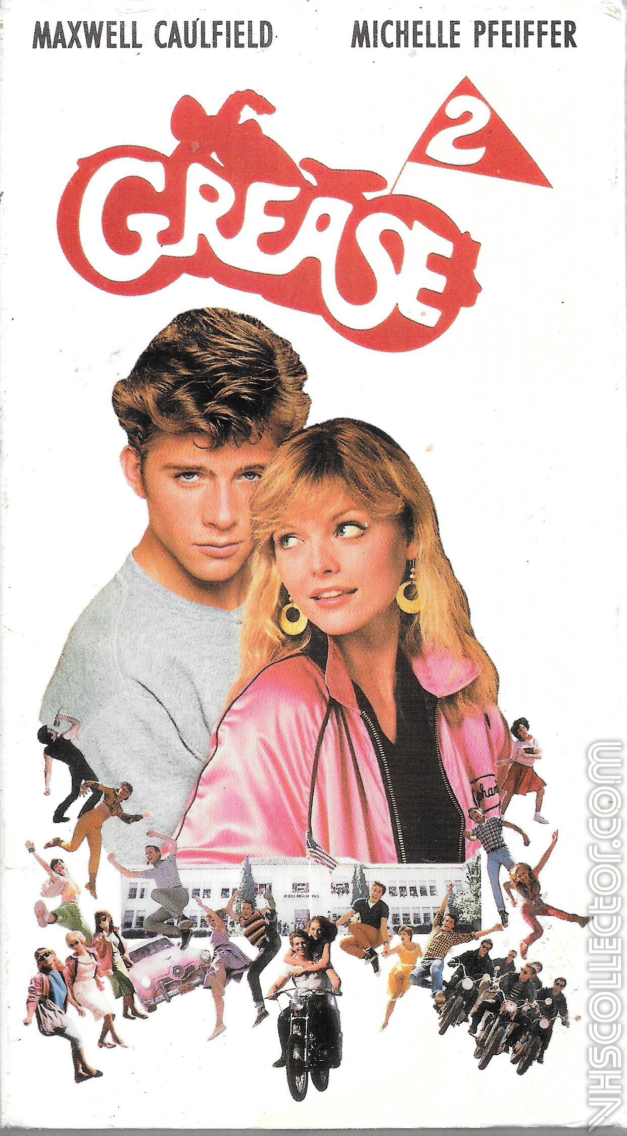 Grease 2 | VHSCollector.com | 1241 x 2250 png 4221kB