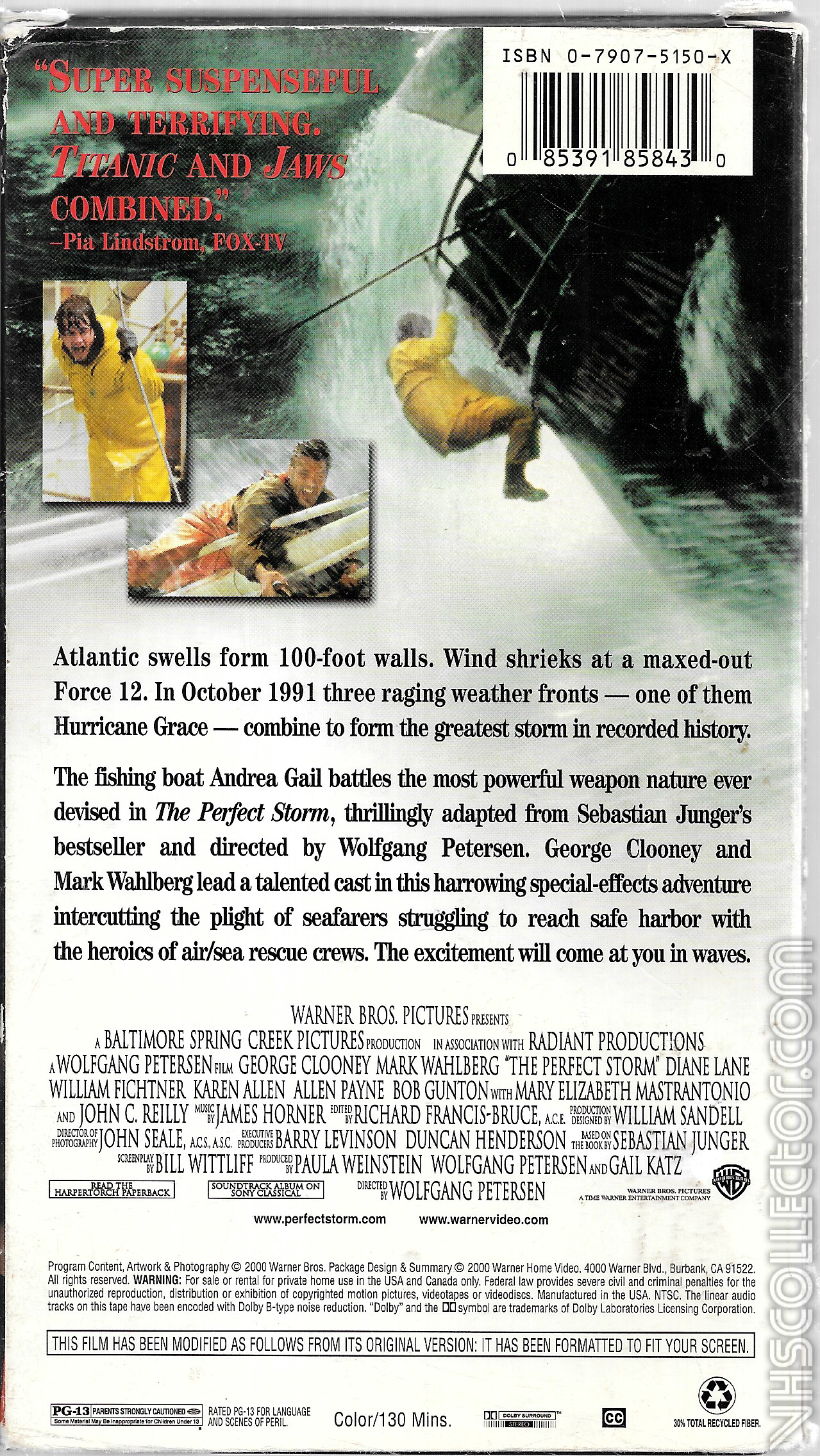 The Perfect Storm Vhscollector Com